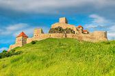 Rupea fortress,fortification on a hill,Brasov,Transylvania,Romania,Europe — Stock Photo