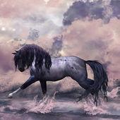 Fantasy Horse Illustration — Stock Photo