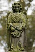 Weeping Stone Angel — Stock Photo