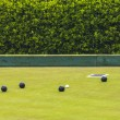 Game Of Bowls With Copy Space — Stockfoto