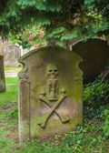 Old Grave Stone — Stock Photo
