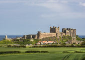 Old English Castle Bamburgh — Stock Photo