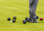 Game Of Bowls With Copy Space — Stock Photo
