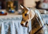 复古摇马玩具 — 图库照片