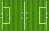 Soccer field or football field — Stock Photo