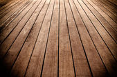 Texture of wooden boards floor — Stock Photo