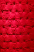 Red fabric upholstery — Stock Photo