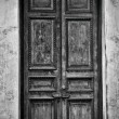 Antique wooden door — Stock Photo #21587477