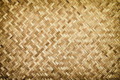 Bamboo wood texture ,Thai handwork — Foto Stock