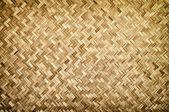 Bamboo wood texture ,Thai handwork — Stock Photo