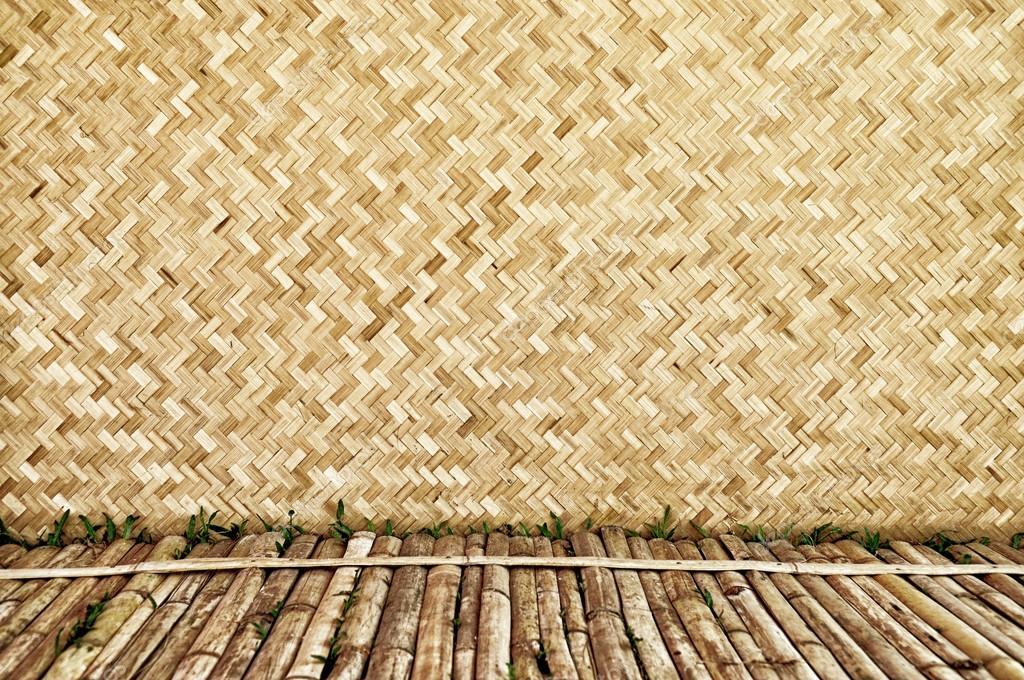 竹木材纹理,泰国手工