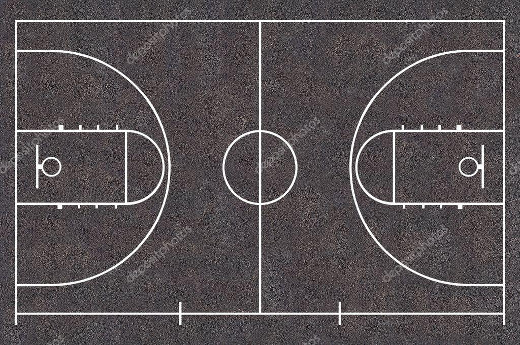 terrain de basket photo 21588289. Black Bedroom Furniture Sets. Home Design Ideas