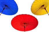 Traditionella thailändska paraply — Stockfoto