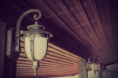 Lantern, vintage styled picture — Stock Photo