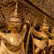 Thai architecture,Wat Phra Kaew.,Bangkok,Thailand — Photo
