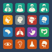 Medical and Hospital Icons set. — Stock Vector