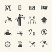 New Technology Trends icons set. — Stock Vector