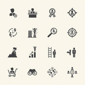 Business Management icons — Stock Vector