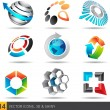 Stock Vector: Icon design elements