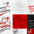 Happy Birthday — Vector de stock #26714435