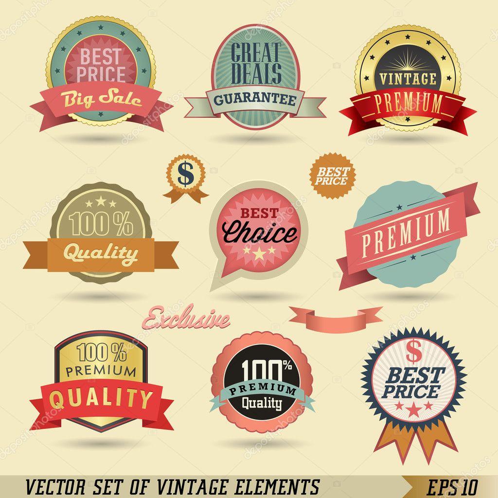 Vintage Labels - Viewing Gallery