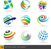 Icon design elements — Stock Vector