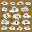 Development icon set — Stock Vector