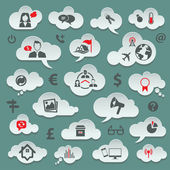 Conjunto de iconos de viajes — Vector de stock