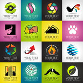 Modern icons — Stock Vector