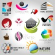 Icons set of modern vector elements — Stock Vector