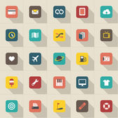 Modern information icons — Stock Vector