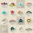 Real Estate web Icons set — Stock Vector #39530439