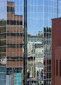Glass Building Reflections, St. John's, Newfoundland, Canada — Stock Photo