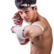 A thai boxer — Foto Stock