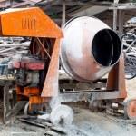 Portable concrete mixer — Stock Photo #34401665