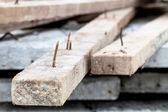 Rusty nail — Stock Photo