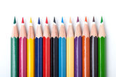 Many color pencils — Stock Photo