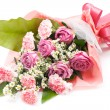 Stock Photo: Bouquet on white background