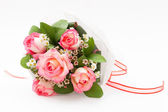 Nicole rose bouquet — Stock Photo