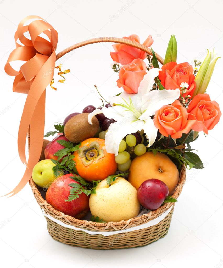 Корзины с фруктами в подарок 21