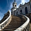 Stairs to the Church — Stock Photo