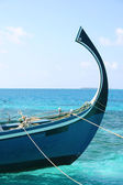 Carribbean boat — Stock Photo