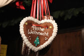 Cokkie heart for christmas — Stock Photo
