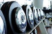 Dumbbells — Fotografia Stock