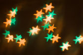 Abstract Christmas light background — Stock Photo