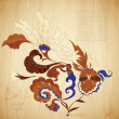 Stock Photo: Batik background