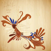 Batik background — Stock Photo