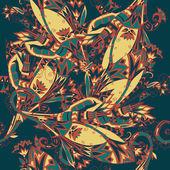 Colorful egyptian seamless pattern — Stock Photo
