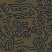 Seamless ethnic pattern — Stock Photo