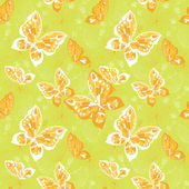 Pattern with butterfly — Stock Vector